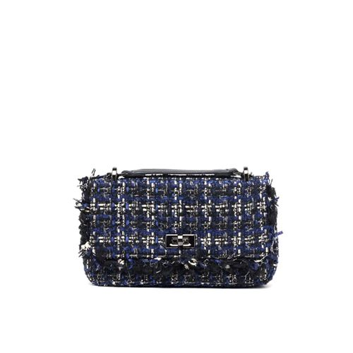 Cartera azul crossobody para dama blue