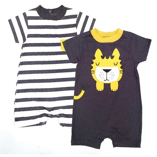 2pack rompers tigre