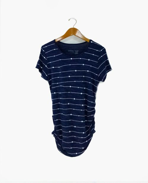 Camiseta c/redondo prt estrellas