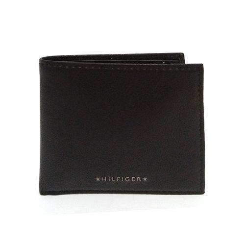 Billetera de cuero de hombre black
