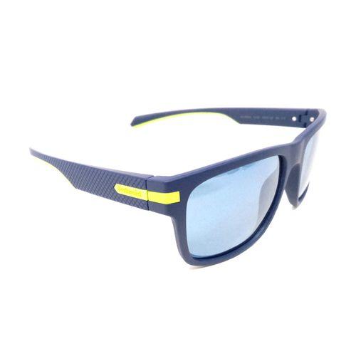 Blu opaco lente de sol deportivo polarizado-blu       opaco