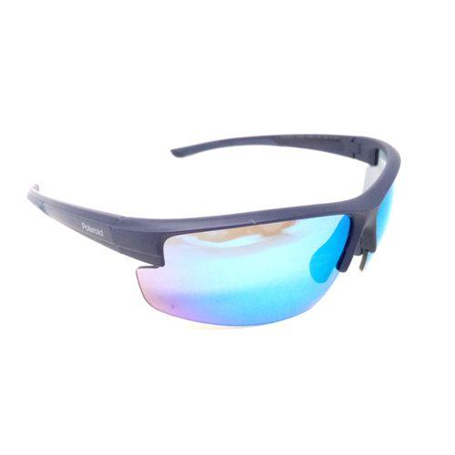 Blu lente de sol deportivo polarizado-blu