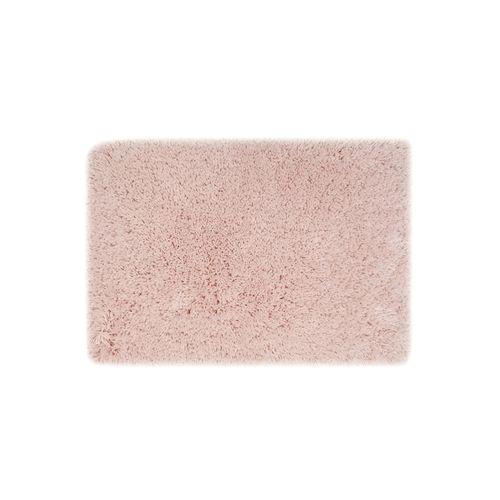 Alfombra de baño rosada
