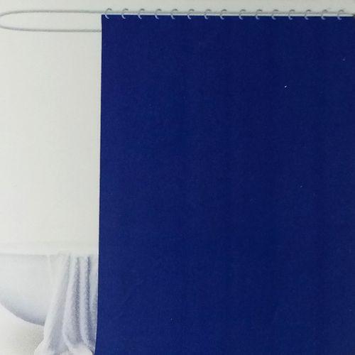 Liner de ducha azul