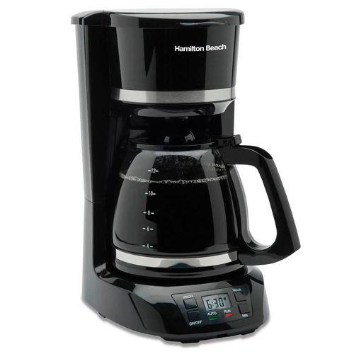 Coffeemaker programable 12 tz negro