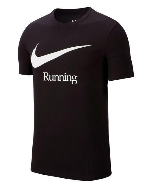 Camisa deportiva de correr negra