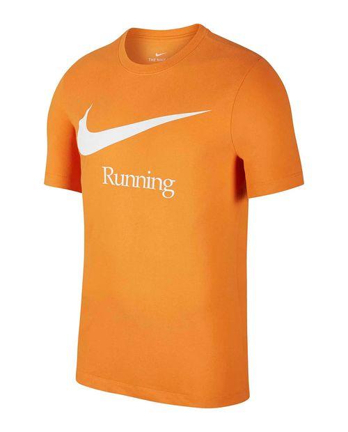 Camisa deportiva de correr naranja