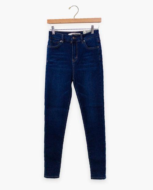 Jeans básico highrise midwash olivia