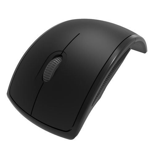 Mouse plegable wireless negro