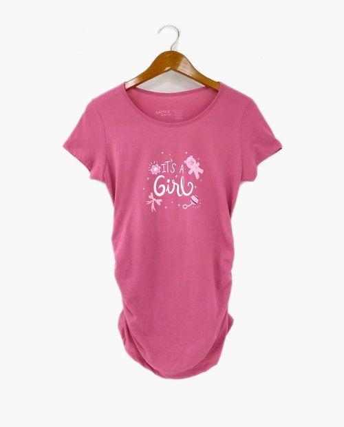 Camiseta c/redondo prt its a girl