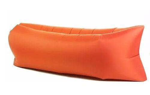 Sillon inflable anaranjado