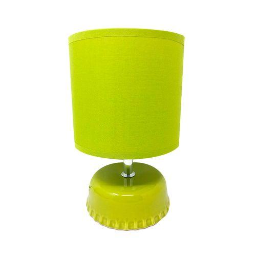 Lampara de mesa 110 voltios amarillo