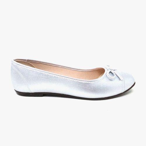 Ballerina plata c/chonga