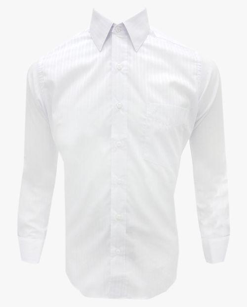 Camisa c/ mancuerna blanc o