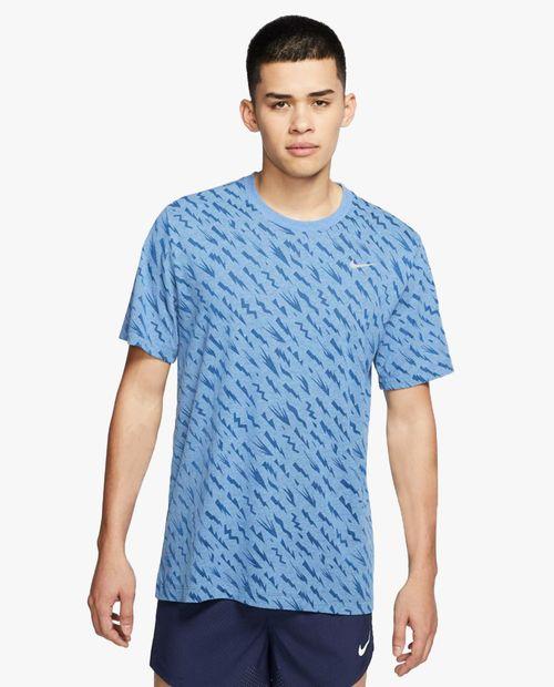 Camisa de hombre nike m nk dry tee dfct wr burnout