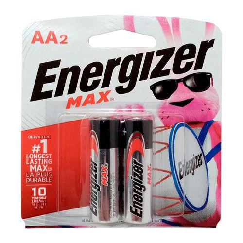 Baterias Energizer alcalina AA