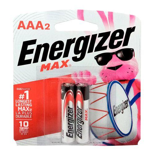 Baterias Energizer alcalina AAA