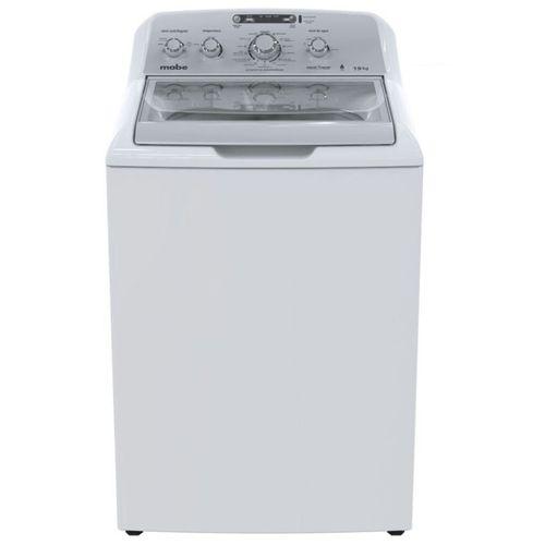 Lavadora automática 19kg blanca carga superior