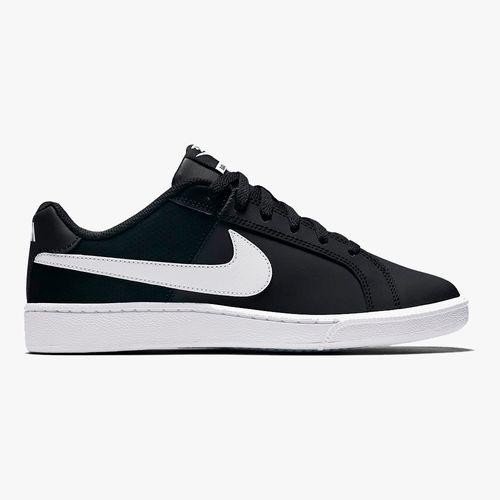 Calzado deportivo casual nike court royale color blanco/negro para dama