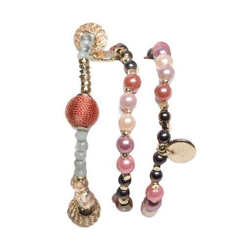 Pulseras elasticas perlas