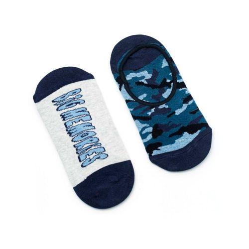 2 pack de calcetines cortos punteras