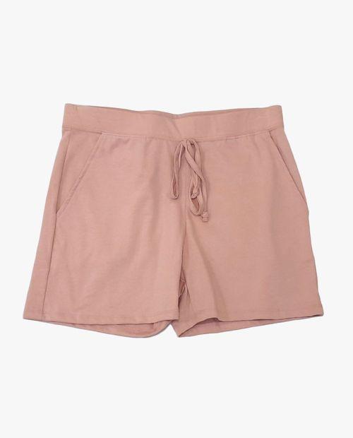 Jogger short blush
