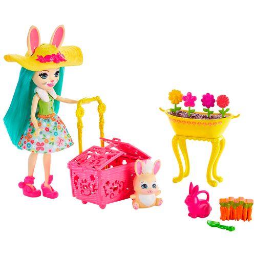 Muñeca y set de juego