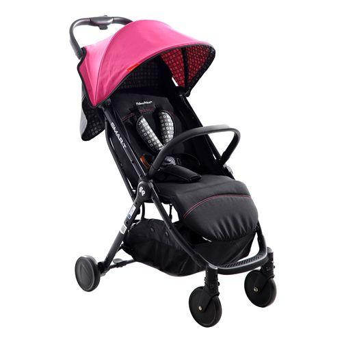 Coche para bebé compacto smart ultra ligth rosado