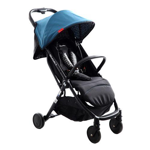 Coche para bebé compacto smart ultra ligth azul