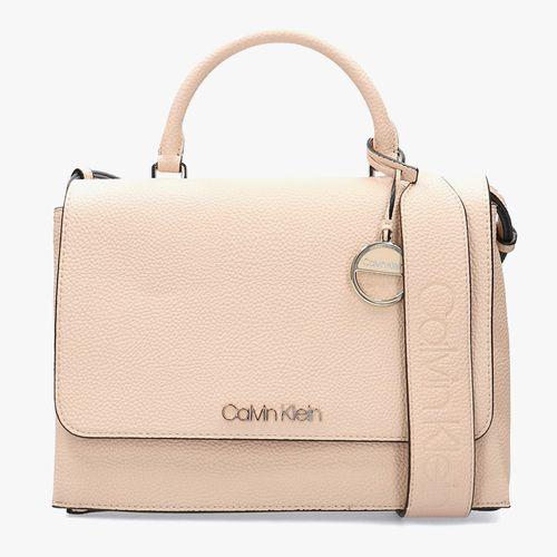 Cartera light sand satchel para dama