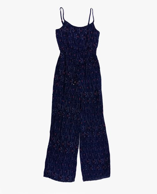 Jumpsuit navy/turq/coral