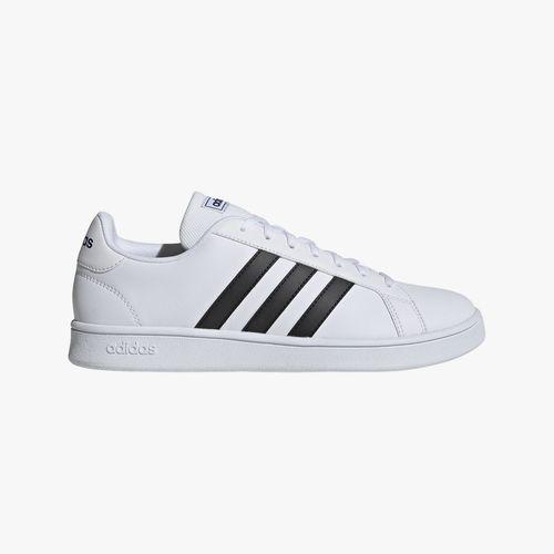 Calzado deportivo lifestyle adidas grand court base blanco/negro para caballero