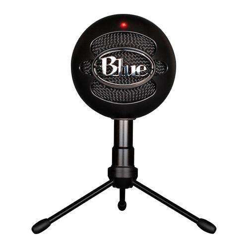 Micrófono USB para streaming snowball negro