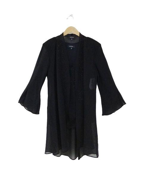 Conjunto pantalon con camisa negro
