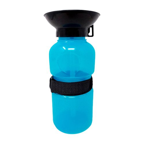 Botella bebedero 500ml azul