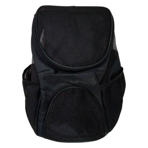 Bolson viaje mascota negro pequeña
