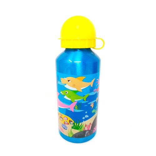 Botella aluminio baby shark 400 ml