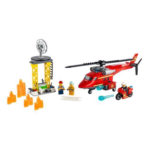 Helicóptero de Rescate de Bomberos