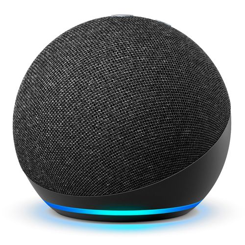 Bocina smart amazon echo dot negra 4ta gen