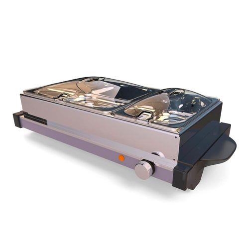Calentador eléctrico buffet 1.5l + 3l