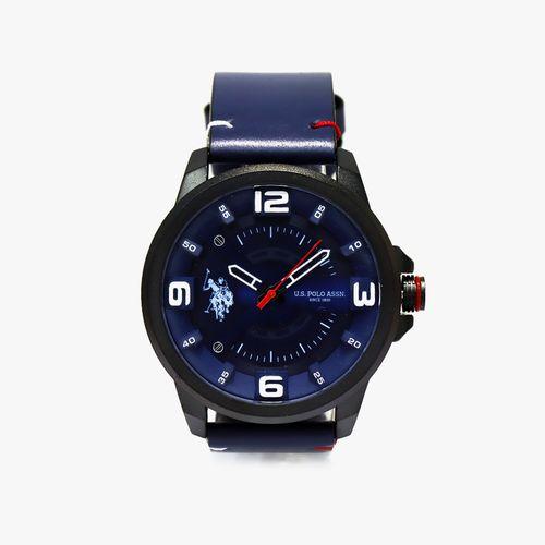 Reloj analogo metalico azul para caballero