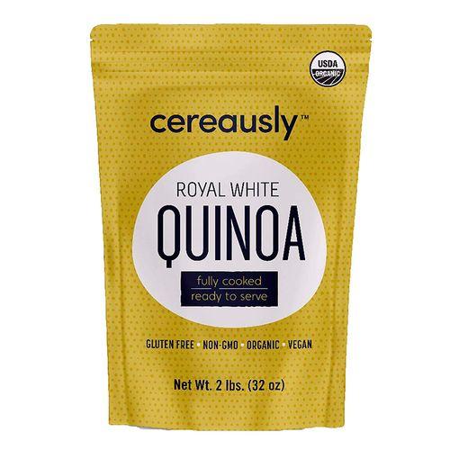 Quinoa blanca cocida 2 lbs (907.18g)