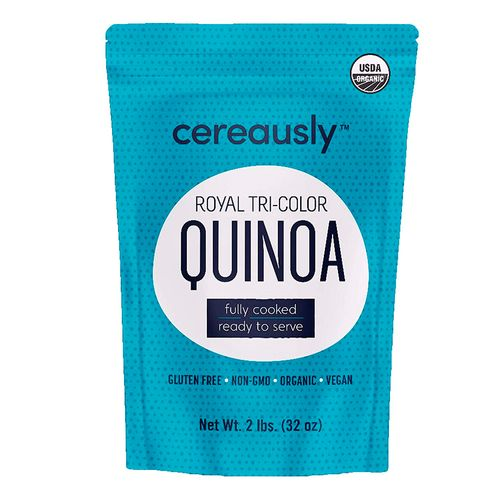 Quinoa tricolor cocida 2 lbs (907.18g)
