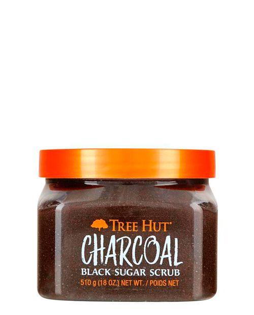 Body Scrub Charcoal & Ginger Extract Black Sugar 510g