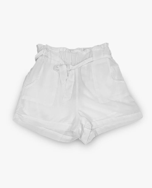Short blanco