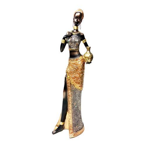 Africana decor 13.5x8.5x41.5cm