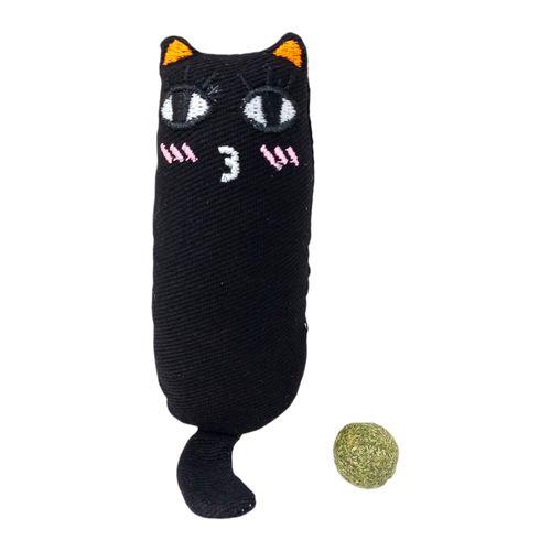 Juguete de gato cat nip negro pequeña