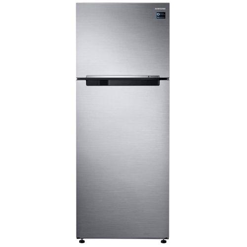 Refrigeradora top mount acero 16 PCU gris