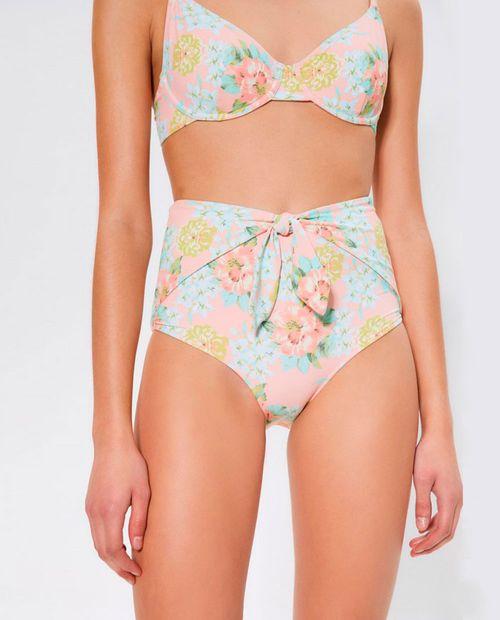 Bikini alta flores