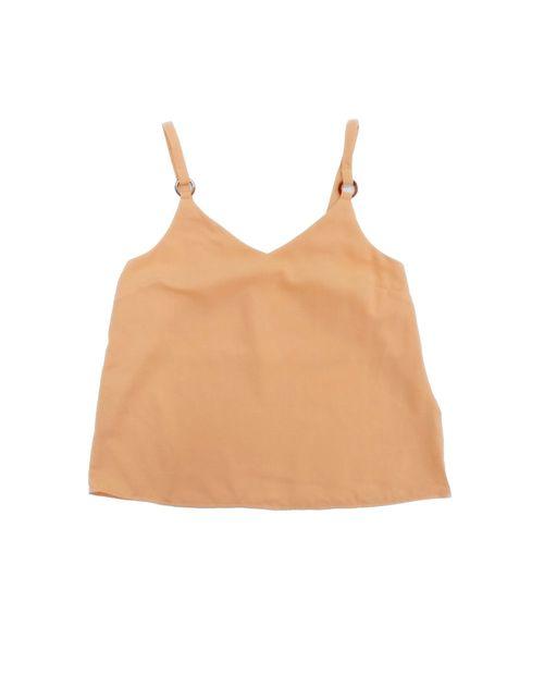 Blusa de tirantes neon naranja